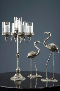 Lekker Flamingo - Antikksølv L
