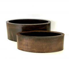2 Brune Ovale Potter