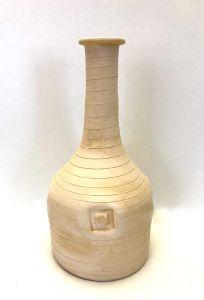 Flott Sandfarget Stor Urne - Cairoserien