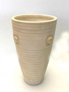 Flott Sandfarget Vase - Cairoserien
