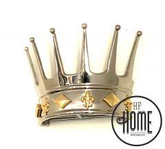 Sett Med King Draperingskrone + 2 King Knagger