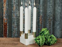 Stilfull Marmor Adventstake