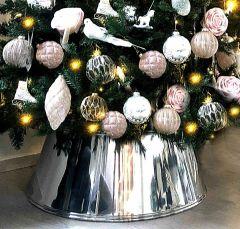 Lace Crome Juletrefotskjuler - Juletreskjørt -