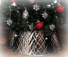 Harlekin Juletrefotskjuler  - Juletreskjørt - Til Årets Juletre