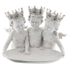Tre Fantastisk Flotte Engler Med Krone