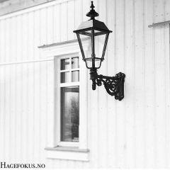 Vegghengt Utebelysning Lang Arm - Old England Style