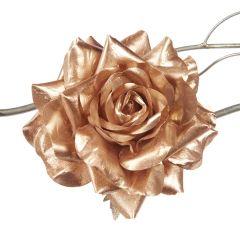 Stor Rose - Rosa Med Gull