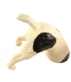 Morsom Sort Dekor-Hund