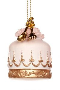 Søt & Dekorativ Cupcake Rosa