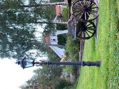 Utebelysning Stolpe - Old England Style