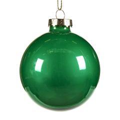Lekre Skimrende Grønne Glasskuler - 6Pk