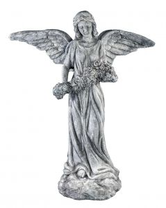 Stor Flott Engel I Sement