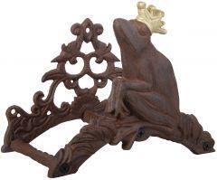 Slangeholder Med Frosk