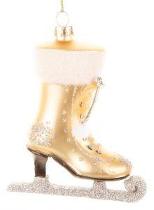 Nydelig Gull Glass Danseskøyte