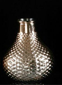 Mønstret Vase I Rosegull